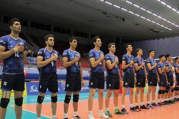 زمان دیدارهای تیم والیبال جوانان ایران در مرحله دوم تعیین شد