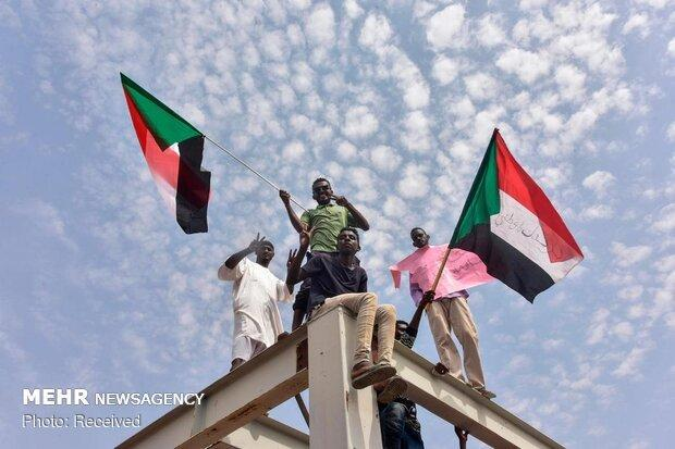 تظاهرات سودانی ها علیه حزب عمر البشیر