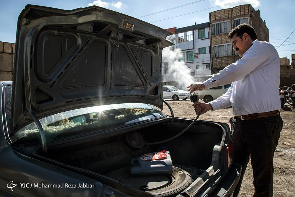 آخرین جزئیات گازسوز کردن خودرو های سواری
