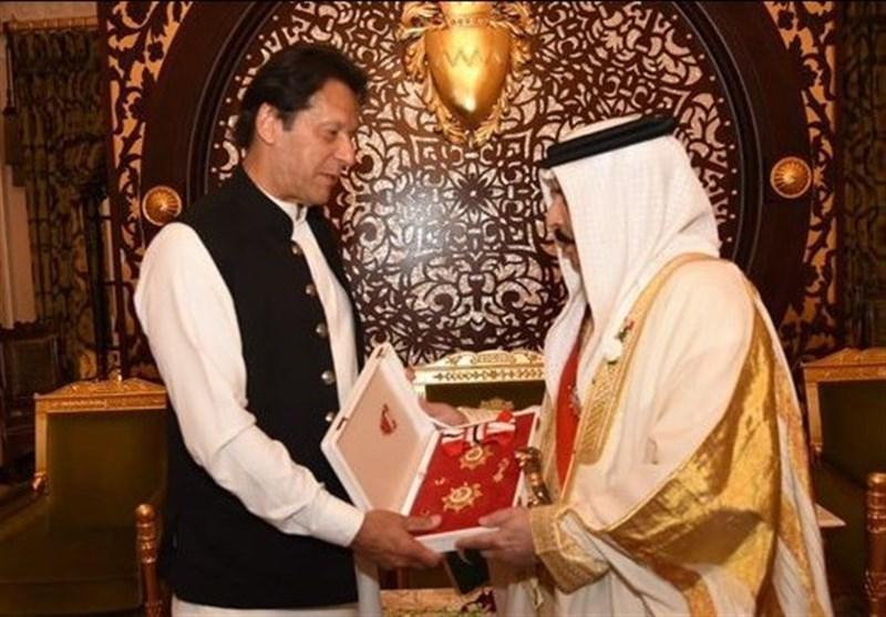 اعطای بالاترین نشان ملی بحرین به عمران خان