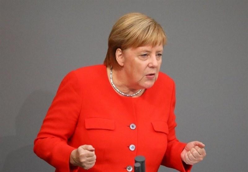 مرکل: آلمان تحت فشار آمریکا از پروژه گازی نورد استریم 2 عقب نمی نشیند