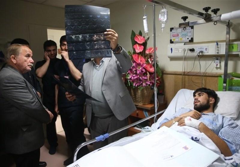 میثم زارع در بیمارستان رفیده ماندنی شد، ادامه بحث درمانی در دوره 21 روزه چهارم