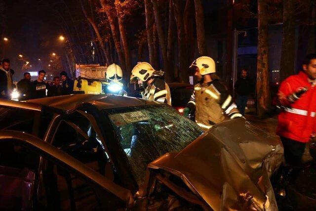 حادثه رانندگی در چهارمحال وبختیاری 8 فوتی و مصدوم برجای گذاشت