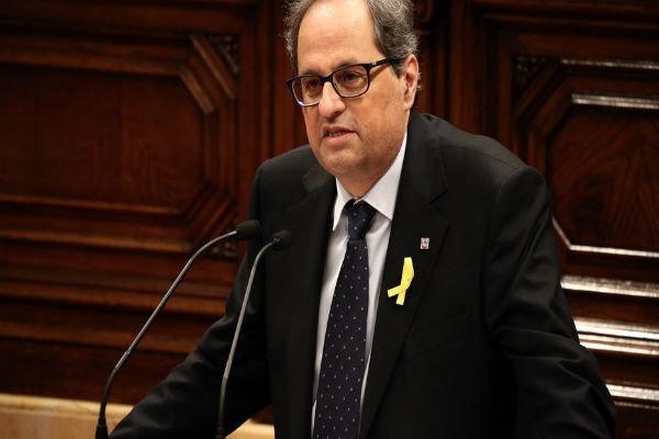 رئیس منطقه کاتالونیا کرونا گرفت