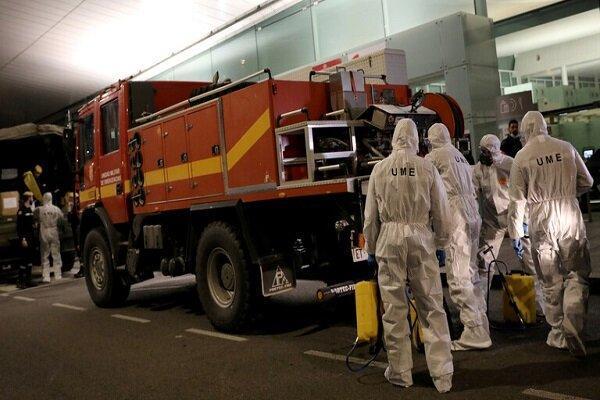 ثبت کمترین میزان تلفات ناشی از کرونا در اسپانیا در 17 روز گذشته