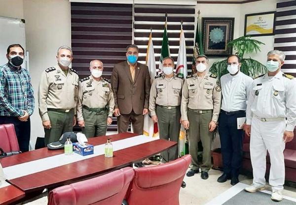 دیدار رئیس سازمان تربیت بدنی ارتش با رئیس فدراسیون ورزش های همگانی کشور