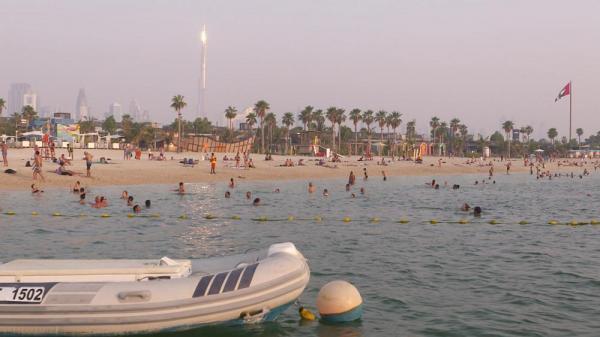 گردشگاه لَمِر، محلهٔ ساحلی تماشایی در دوبی